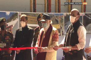 Prime Minister Narendra Modi inaugurates strategically important Atal Tunnel in Himachal Pradesh