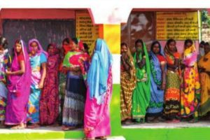Nearly 54% turnout in Bihar amidst Covid
