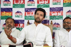 Chirag Paswan extends birthday greetings to Amit Shah; sharpens attack on Nitish Kumar