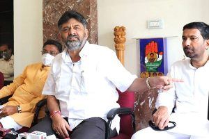 CBI raids Karnataka Congress chief DK Shivakumar's premises in alleged corruption case