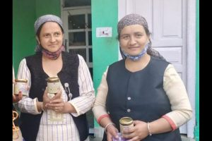 A step in 'good taste' helps hill women become self-reliant