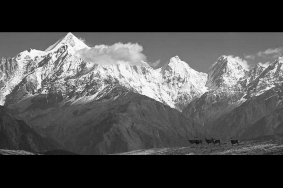 Himalayas, Jammu and Kashmir, Chinese association