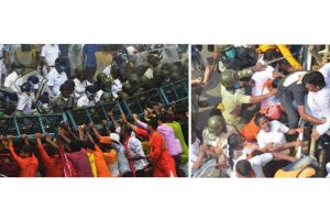 Violent clashes erupt in Kolkata, Howrah during BJP's 'march to Nabanna'