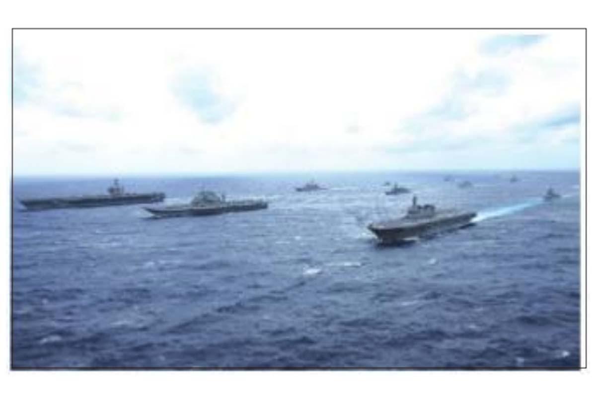 Malabar naval, nations