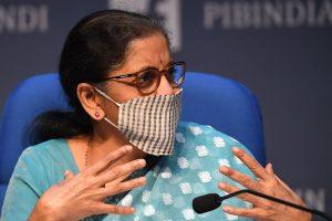 Benefiting poor not some 'Damaad': Nirmala Sitharaman's jibe on Cong