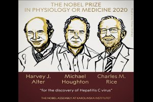 Three jointly win Nobel Medicine Prize for discovery of Hepatitis C virus
