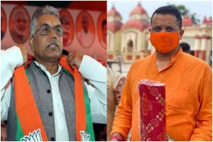 BJP MP Saumitra Khan declares state party president Dilip Ghosh as Bengal CM candidate