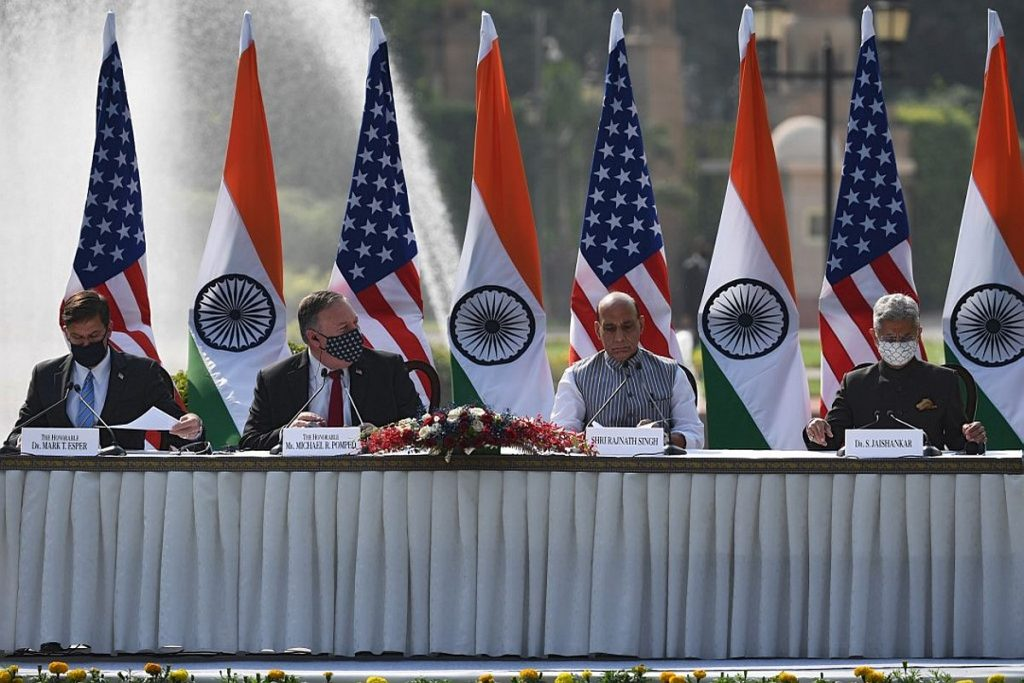 Strengthening cooperation against all threats, not just those posed by  Chinese': US at 2+2 dialogue