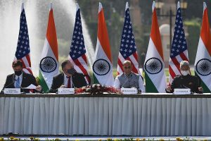 'Strengthening cooperation against all threats, not just those posed by Chinese': US at 2+2 dialogue