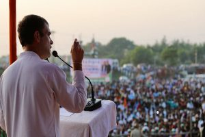 Rahul Gandhi hits out at PM Modi on unemployment, migrants issue at rally in Bihar
