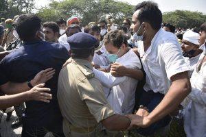 'Won't be afraid of anyone': Rahul Gandhi quotes Mahatama Gandhi referring to UP incident