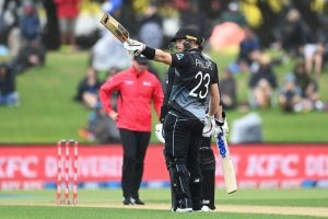 Glenn Philips smashes fastest T20 hundred for New Zealand as they beat West Indies