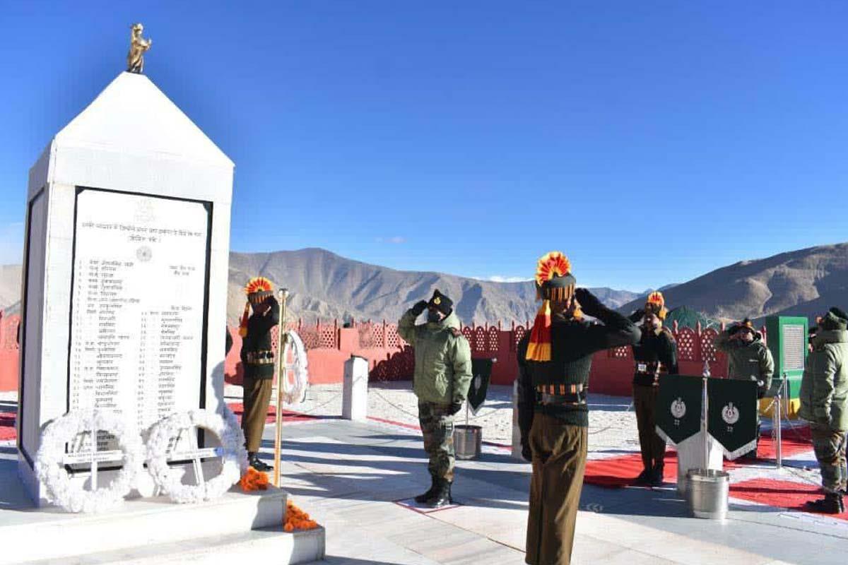 Tributes, 1962, Battle of Rezang La, China, eastern Ladakh