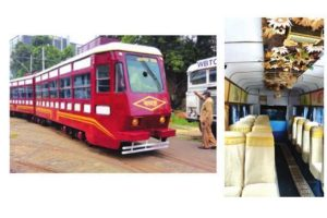 Jute fuses with tram for Paat Rani