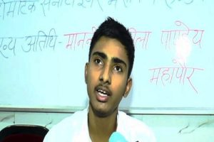 Kanpur boy develops air purifier robot
