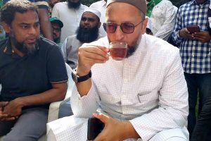 Carry out surgical strikes on China, Owaisi dares BJP