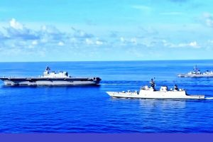 Indian Navy hosting Exercise SIMBEX-20 in Andaman Sea