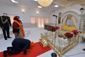 President, VP, PM greet people on Parkash Purab of Guru NanakDev Ji
