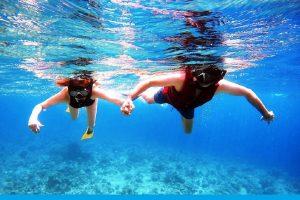 Kajal Aggarwal, hubby go deep sea diving on honeymoon in Maldives