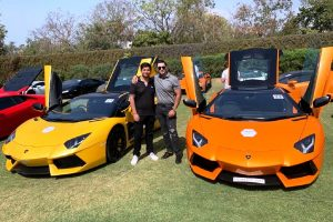Mahir Khetwani is a passionate car enthusiast with a good collection