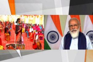 PM Modi lays foundation stone of rural drinking water supply projects in Vindhyachal