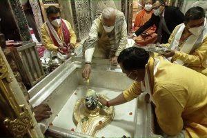 PM Modi lights first lamp to celebrate Dev Deepawali in Varanasi