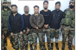 Huge success for Indian Army, dreaded ULFA(I) leader Dirshti Rajkhowa surrenders with top cadres and arms