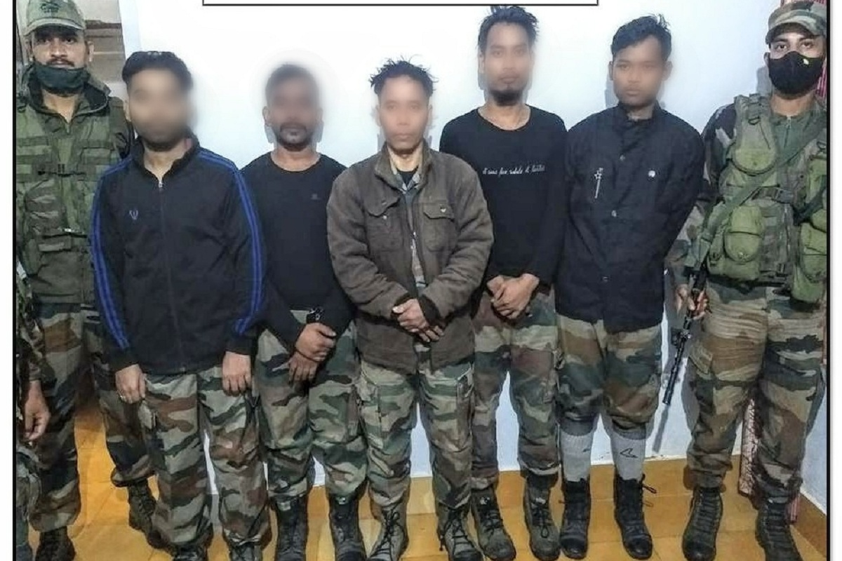 ULFA(I), Dirshti Rajkhowa, Indian Army, Meghalaya, Assam, Bangladesh, ULFA