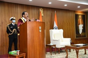 Vice President Naidu asks universities and educators to reassess education system