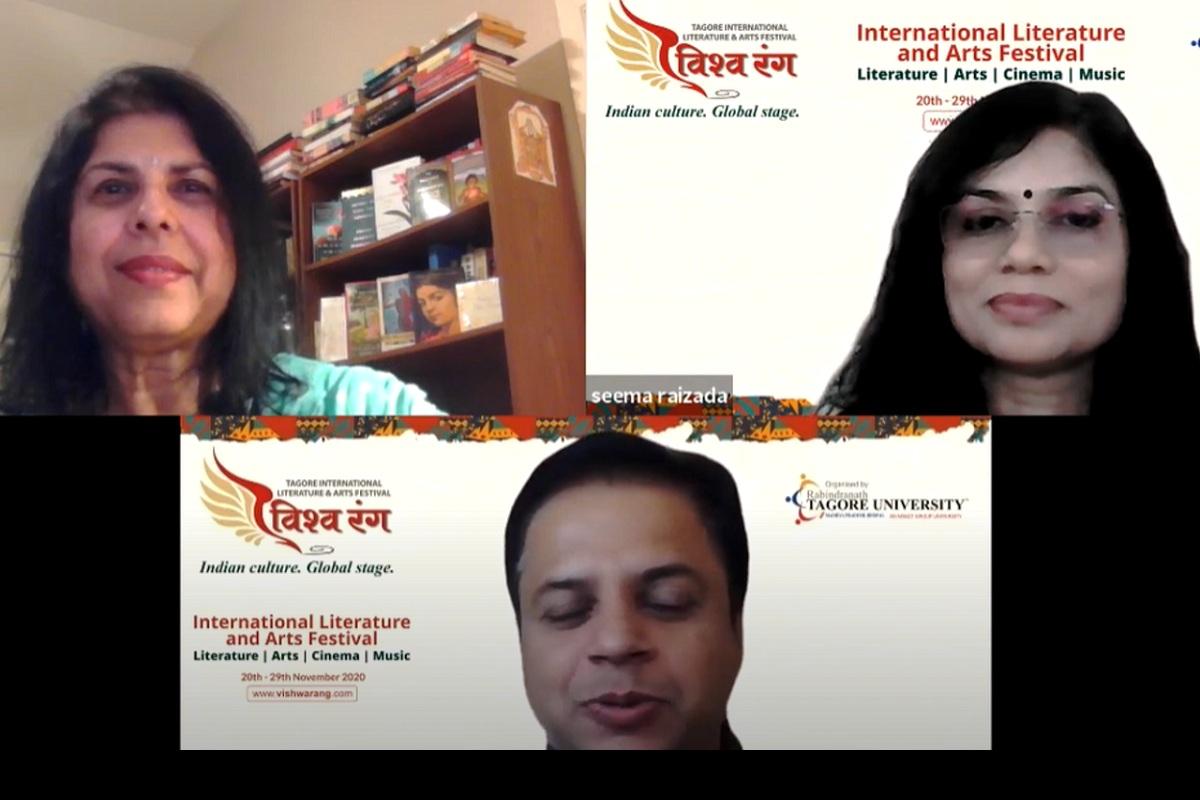 Vishwarang 2020, Vishwarang International Film Festival 2020, Chitra Banerjee Divakaruni, Grammy Award, Ustaad Shujaat Khan