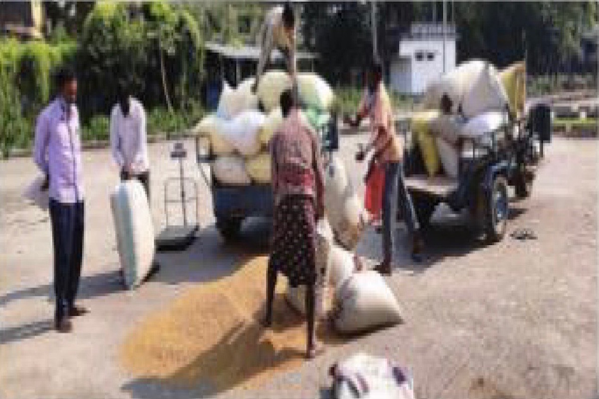 Food and Supplies Department, South Dinajpur, procurement centres, Paddy procurement,