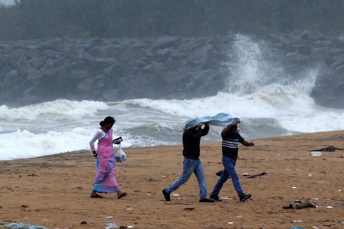 cyclonic storm Nivar, Tamil Nadu coast, Puducherry coasts
