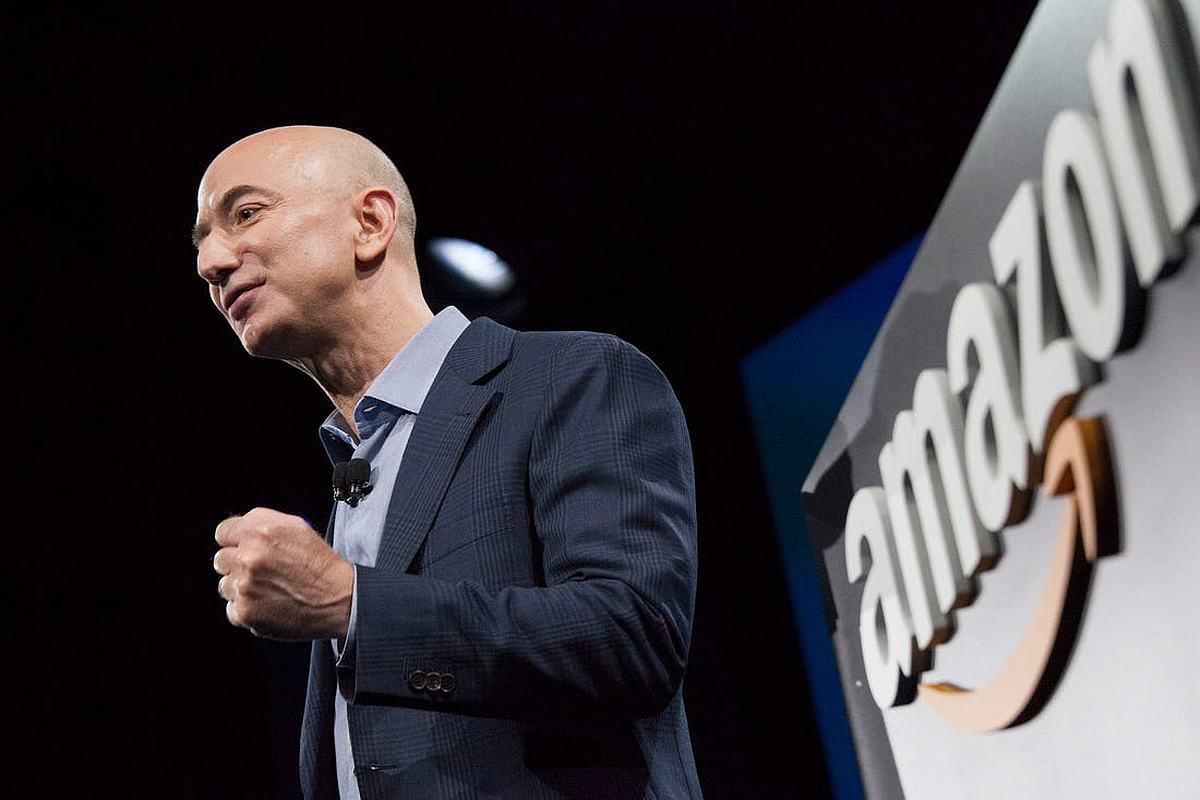 Jeff Bezos, climate fund, Amazon Climate Pledge, Earth Fund