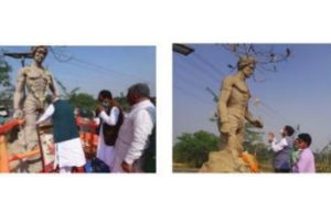 Tribal outfits in Bankura protest BJP's Birsa Munda tribute to wrong statue