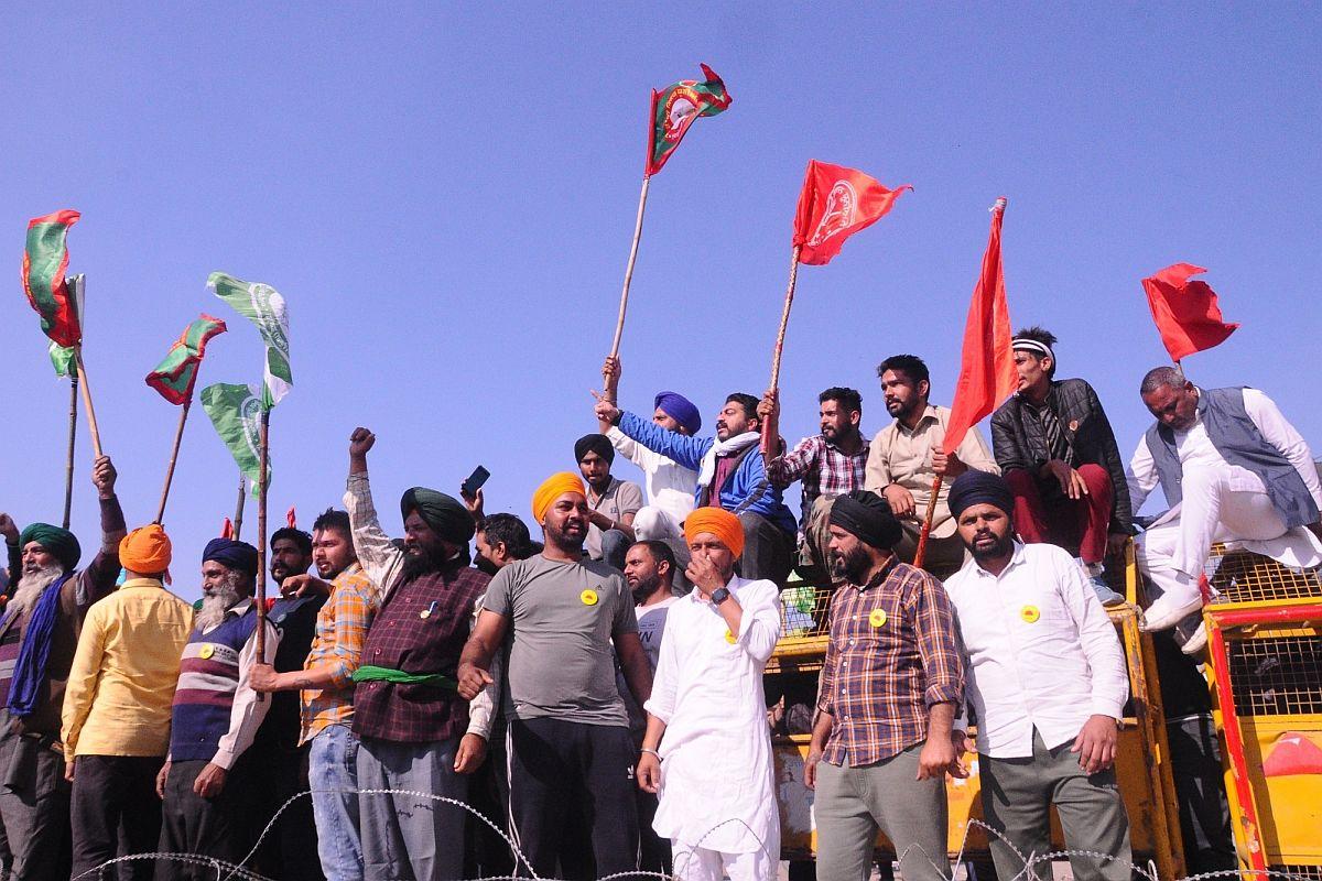 Punjab farmers, Singhu Border, farm laws,