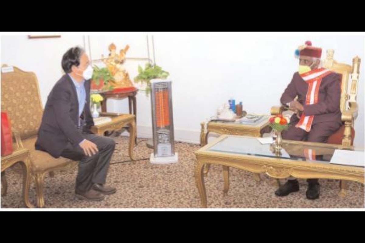Ambassador, Republic of Korea, Shin Bong-Kil, HP Governor Bandaru Dattatraya, Indo-Korean bilateral relations,
