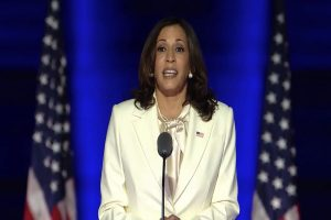 'I may be first woman in this office, will not be last': Kamala Harris