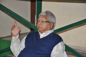 People of Bihar will give Tejashwi Yadav a birthday gift today: RJD chief Lalu Yadav
