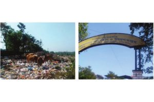 Midnapore: Mountains of garbage leave foul stench