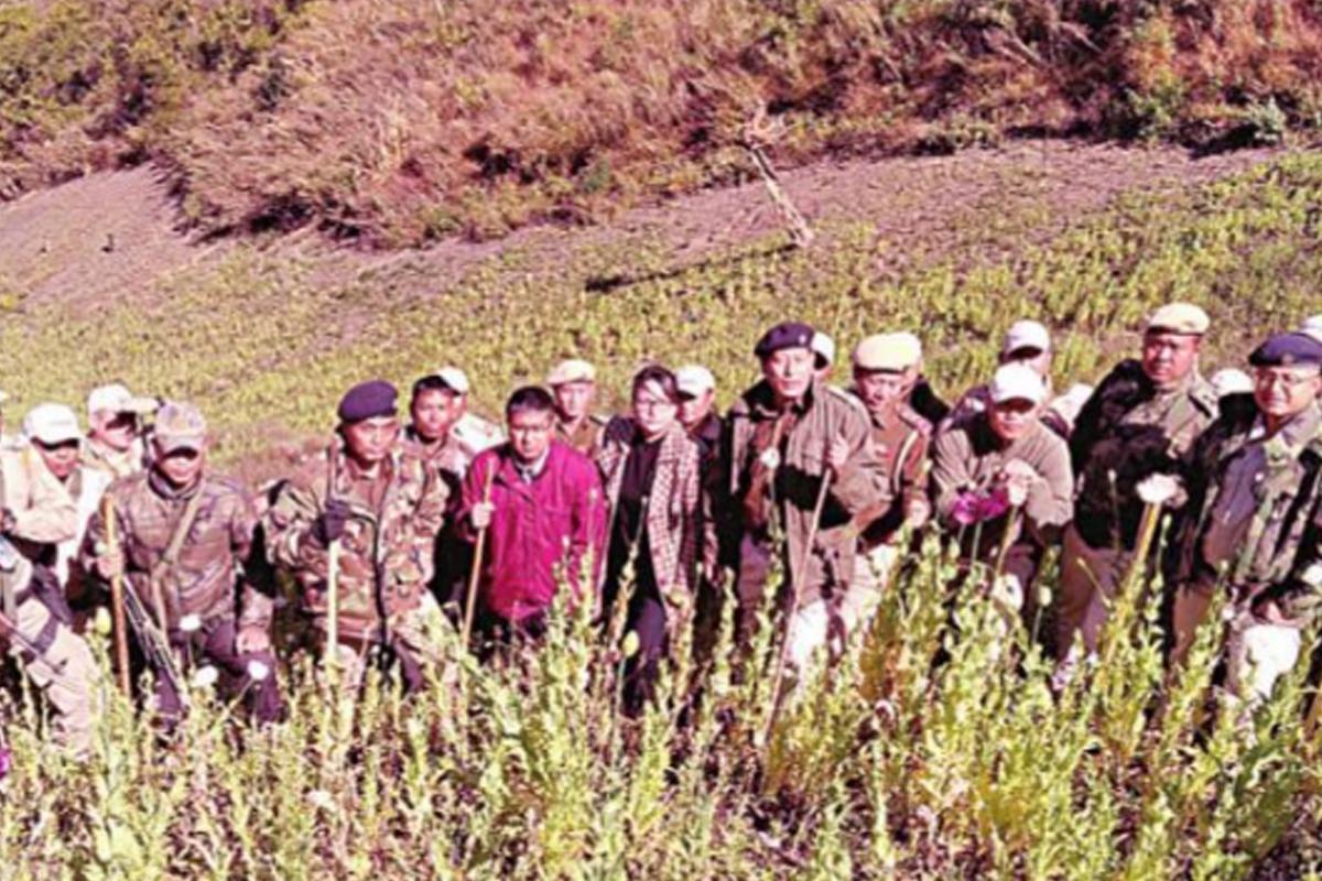 Manipur Chief Minister N Biren Singh, farmers, Poppy,