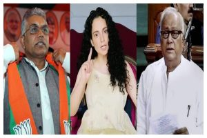 TMC veteran Saugata Roy compares BJP WB president Dilip Ghosh with Kangana Ranaut