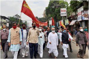 Left, Congres reach agreement on 193 seats so far; Brigade mega rally on February 28