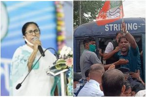 Railways delaying Majerhat Bridge: Mamata Banerjee after BJP's violent clash with police