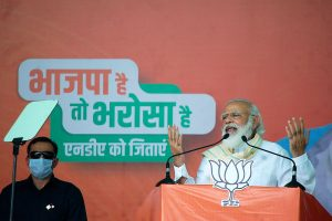 'Jungleraj, double Yuvrajs rejected by people of Bihar, NDA will come to power again': PM Modi