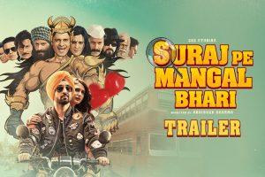 Suraj Pe Mangal Bhari   Official Trailer   Diljit   Manoj   Fatima   Abhishek Sharma