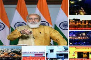 PM Modi lays foundation stone of development projects under 16 schemes in Varanasi