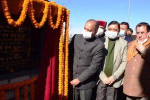 Jai Ram unveils Vajpayee's statue in Shimla