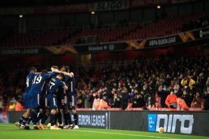 Europa League: Arsenal win as fans return; Tottenham Hotspur share points in thriller