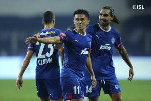 ISL: Sunil Chhetri's brace helps Bengaluru FC beat Kerala Blasters 4-2
