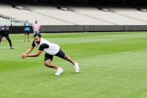 Rohit Sharma begins training in Melbourne ahead of third Test against Australia